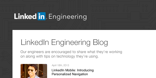 LinkedIn Engineering